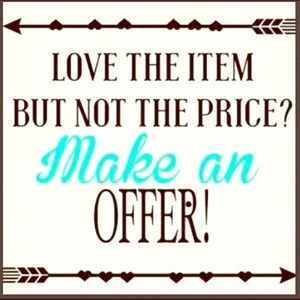 Other - Hi Poshers! Reasonable offers will be accepted:)